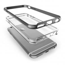 Чехол Verus New Crystal Bumper для iPhone 6S/6, стальной, фото 1