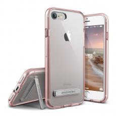 Чехол-накладка Verus Crystal MIXX для iPhone 7/8, полиуретан / поликарбонат, прозрачный / розовое золото, фото 1