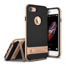 Чехол-накладка Verus High Pro Shield для iPhone 7/8, полиуретан / поликарбонат, чёрный / золотой, фото 1