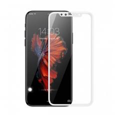 Защитное стекло для iPhone X Goldspin 3D, 0.3mm (белый), фото 1