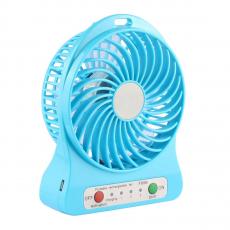 фото товара Портативный вентилятор Minifan Portable Mini USB Charging Fan Rechargeable Battery (blue)