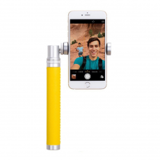 фото товара Монопод для селфи Momax Selfie Pro Bluetooth, 90см, серебристый, KMS4