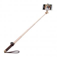 фото товара Монопод для селфи Momax Selfie Pro Bluetooth, 90см, золотой, KMS4L