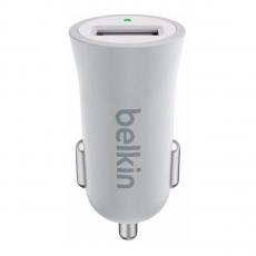 Автомобильное зарядное устройство Belkin Universal Car Charger, USB-A, 2.4A, серебристый, фото 1