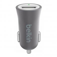Автомобильное зарядное устройство Belkin Universal Car Charger, USB-A, 2.4A, тёмно-серый, фото 1
