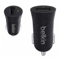 Автомобильное зарядное устройство Belkin Universal Car Charger, USB-A, 2.4A, чёрный, фото 3