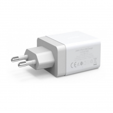 Сетевое зарядное устройство Anker 2 USB, 24W, 4.8A, белое, фото 2