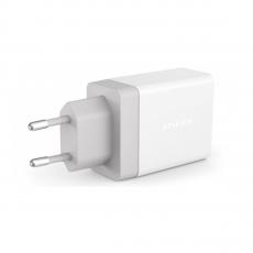 Сетевое зарядное устройство Anker PowerPort 2, белое - фото
