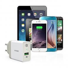 Сетевое зарядное устройство Anker PowerPort+, USB 3.0, белое, фото 2