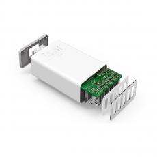 Сетевое зарядное устройство PowerPort 5, 40 Вт, белое, фото 2