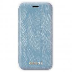Чехол-книжка Guess Python для IPhone X/Xs, поликарбонат / эко-кожа, синий, фото 1