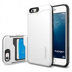 Чехол Spigen Slim Armor CS для iPhone 6 и 6S, белый, фото 1