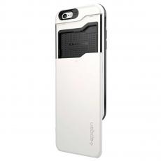 Чехол Spigen Slim Armor CS для iPhone 6 и 6S, белый, фото 3