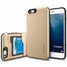 Чехол Spigen Slim Armor CS для iPhone 6 Plus / 6s Plus, золотой, фото 1