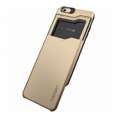 Чехол Spigen Slim Armor CS для iPhone 6 Plus / 6s Plus, золотой, фото 3