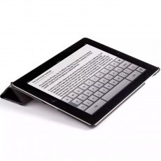 фото товара Чехол Jison Smart Leather Case для Apple iPad 2/3/4, черный, JS-IPD-07I10