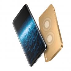 Беспроводное зарядное устройство Baseus для iPhone X, золотой, фото 1