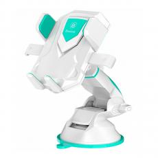 Автомобильный держатель Baseus Robot, белый-фото
