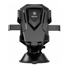 Автомобильный держатель Baseus Robot, черный-фото