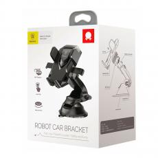 Автомобильный держатель Baseus Robot, черный, фото 3
