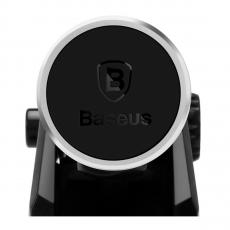 Автомобильный держатель Baseus Solid Series Telescopic, серебристый, фото 2