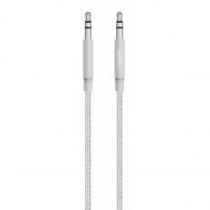 Фото кабеля Belkin Mixit Metallic 3.5 мм в оплетке, 1.2 метра