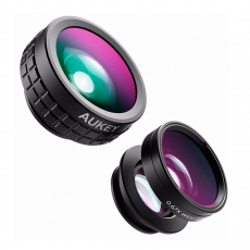 Набор объективов Aukey Optic Pro 3 in 1 Lens, черный-фото