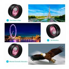Объектив Aukey Optic Pro 2X Telephoto Lens для iPhone, чёрный, фото 3