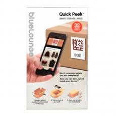 Самоклеющиеся стикеры с QR кодами Bluelounge Quick Peek-описание
