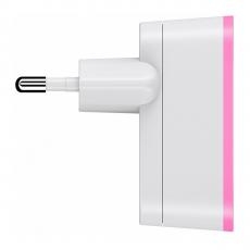 Сетевое зарядное устройство Belkin Mixit, 2.1 А, розовое, фото 2