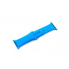 Браслет силиконовый для Apple Watch 38mm, синий, фото 1