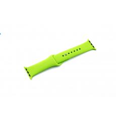 Браслет силиконовый для Apple Watch 38mm, зеленый, фото 1