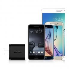Сетевое зарядное устройство AUKEY, 2 порта, Qualcomm Quick Charge 3.0, черный, PA-T16