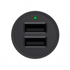 Автомобильное зарядное устройство Belkin BoostUp, 2 USB-A, 4.8A, чёрный, фото 2
