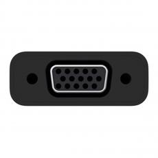 Переходник Belkin, с USB-C на VGA, чёрный, фото 1