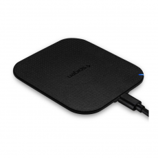 Беспроводное зарядное устройство Spigen Essential F302W, 5 Вт, черное, фото 3