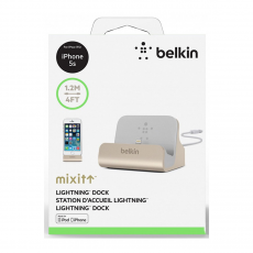Док-станция Belkin Charge Sync Dock, для iPhone, золотистый, фото 3