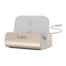 Док-станция Belkin Charge Sync Dock, для iPhone, золотистый, фото 1