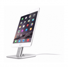 Подставка Twelve South HiRise V2 для iPhone и iPad, серебро, фото 1