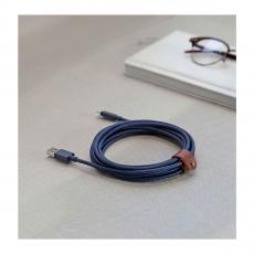 Кабель Native Union Belt Cable XL, синий, фото 2