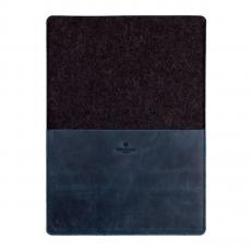 фото товара кожаный чехол Stoneguard для MacBook 12 | 511 | синий-тёмный