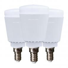 Набор из трех умных ламп Mixberry LED Smart E14, белый-фото
