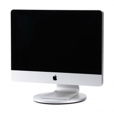 Подставка Just Mobile AluDisc для iMac и Apple Display, серебро, фото 2