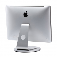 Подставка Just Mobile AluDisc для iMac и Apple Display, серебро-фото