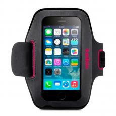 Чехол спортивный Belkin Slim-Fit Armband для iPhone 6 и 6S, тёмно-серый/розовый, фото 1