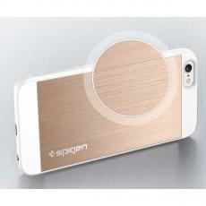 """Чехол Spigen Aluminum Fit для iPhone 6 и 6S, """"шампань"""", фото 2"""