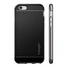 Чехол Spigen Neo Hybrid Series для iPhone 6 и 6S, стальной, фото 4