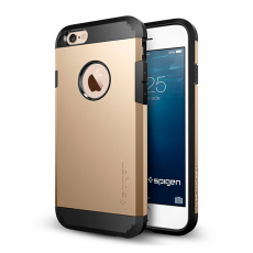 Чехол Spigen Tough Armor для iPhone 6 и 6S, шампанское золото, фото 1