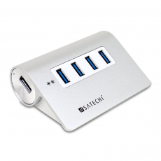 фото товара USB-хаб Satechi 4 Port USB 3.0 Premium Aluminum Hub V.2 для Mac (B00O2GH67I)