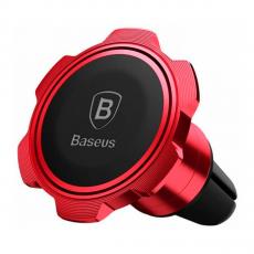 Автомобильный держатель Baseus Gyro Magnet Air Vent Car Mount, красный, фото 1